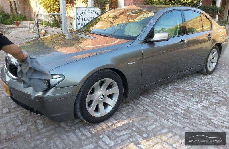 bmw 7 series 730d 2003 for sale in faisalabad pakwheels. Black Bedroom Furniture Sets. Home Design Ideas