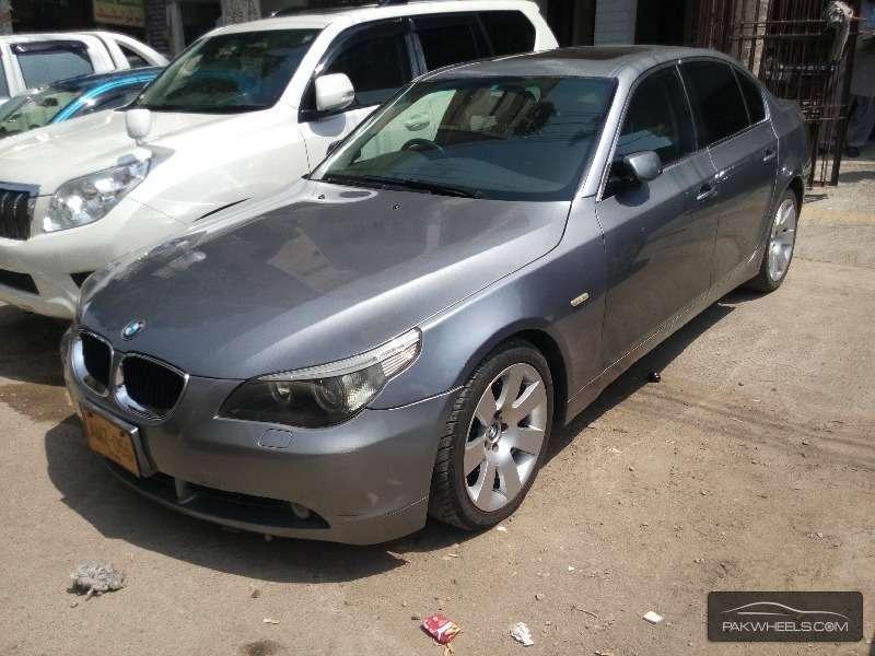 Worksheet. BMW 5 Series 530i 2005 for sale in Karachi  PakWheels