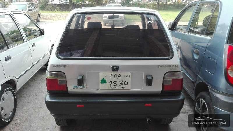 Suzuki Mehran VX (CNG) 2007 Image-5