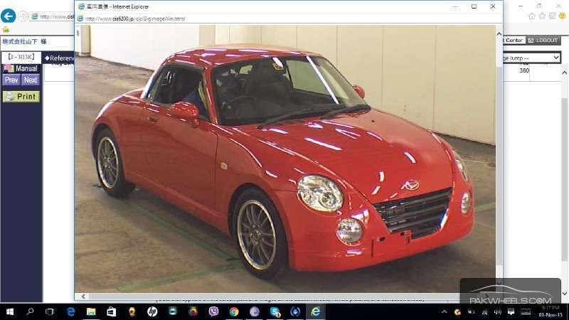 Daihatsu Copen 10th Anniversary Edition 2012 Image-1