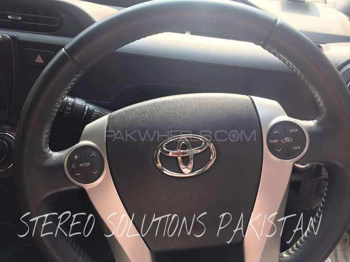Aqua Multi Media Steering Button For Sale Image-1