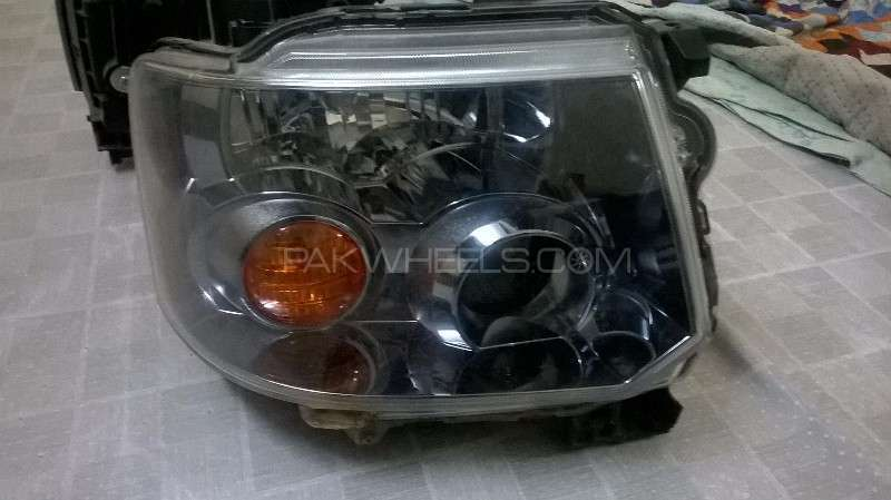Head Lights Pair of Mitsubishi Ek Wagon/ Ek custom For Sale Image-1