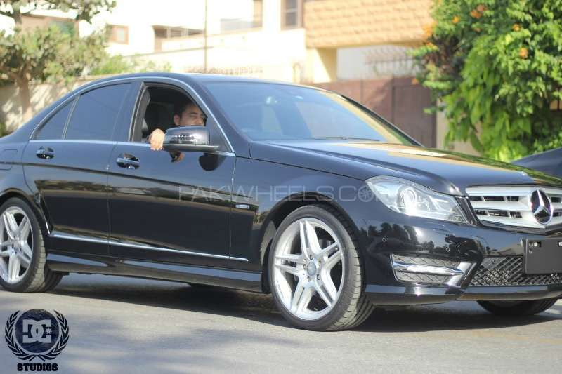 mercedes benz c class c200 2012 for sale in karachi pakwheels. Black Bedroom Furniture Sets. Home Design Ideas
