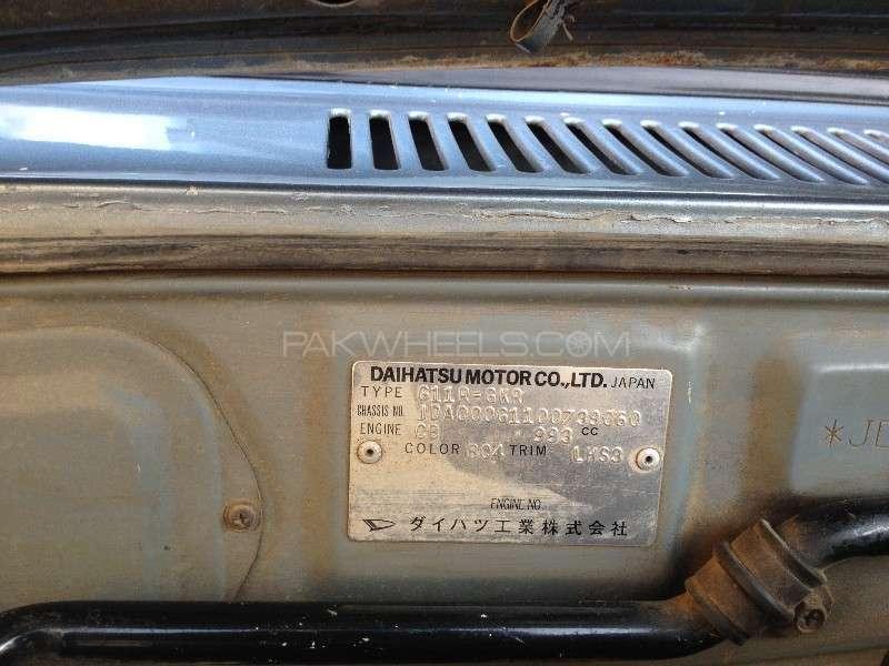Daihatsu Charade CX 1984 Image-7