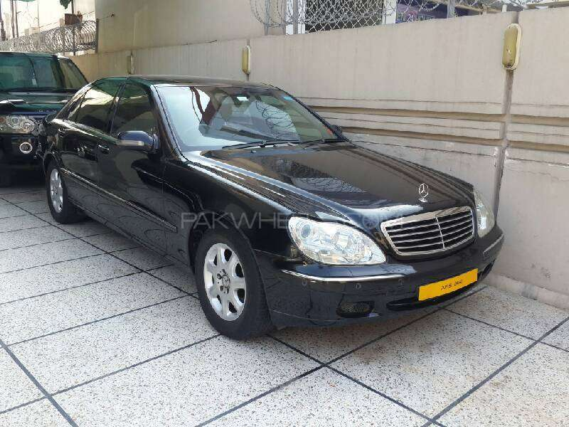 mercedes benz s class s 320 2001 for sale in lahore pakwheels. Black Bedroom Furniture Sets. Home Design Ideas
