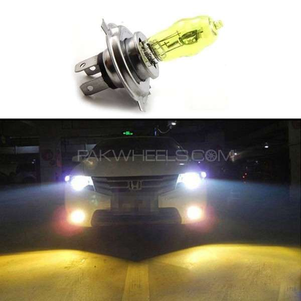 H4 3000K 12V 100W Super Yellow Car HOD Xenon Bulb Image-1