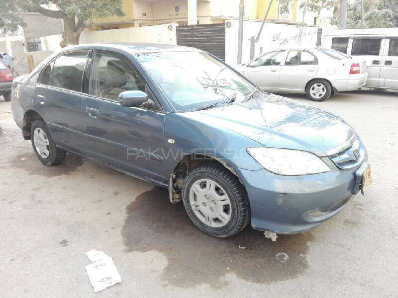 Honda Civic EXi Prosmatec 2004 Image-3