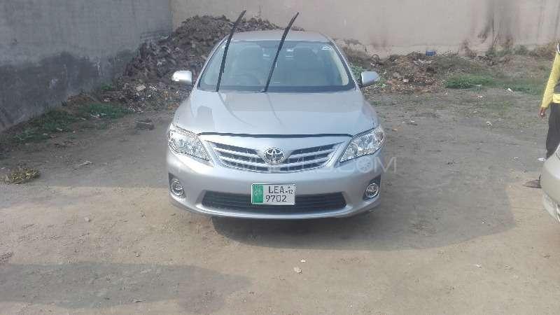 Toyota Corolla GLi 1.3 VVTi 2012 Image-12