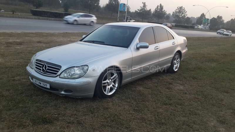 mercedes benz s class s 320 2002 for sale in islamabad pakwheels. Black Bedroom Furniture Sets. Home Design Ideas