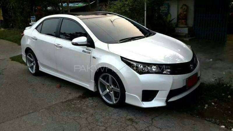 toyota corolla 2015 body kit at cheapest price for sale in karachi. Black Bedroom Furniture Sets. Home Design Ideas