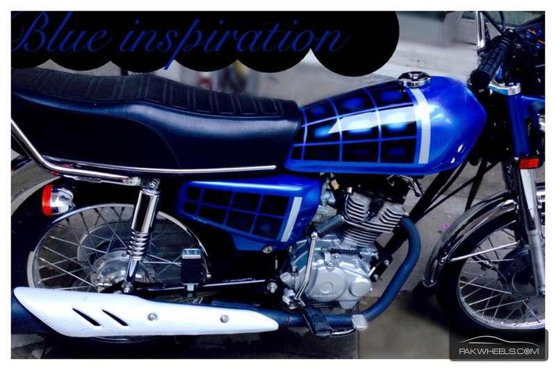 Honda CG 125 - 2015 blue Range Image-1