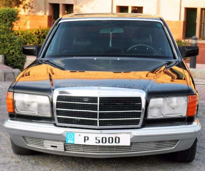 Mercedes Benz S Class - 1985 P5k Image-1