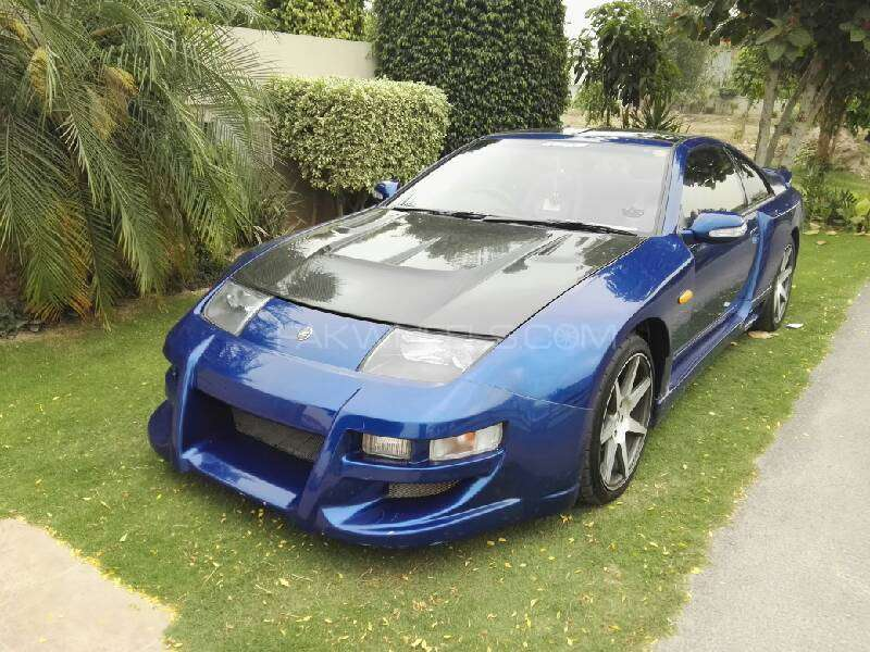 Nissan Z Series - 1992 blue Image-1