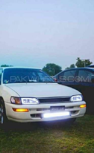 Toyota Corolla - 1995 white king Image-1