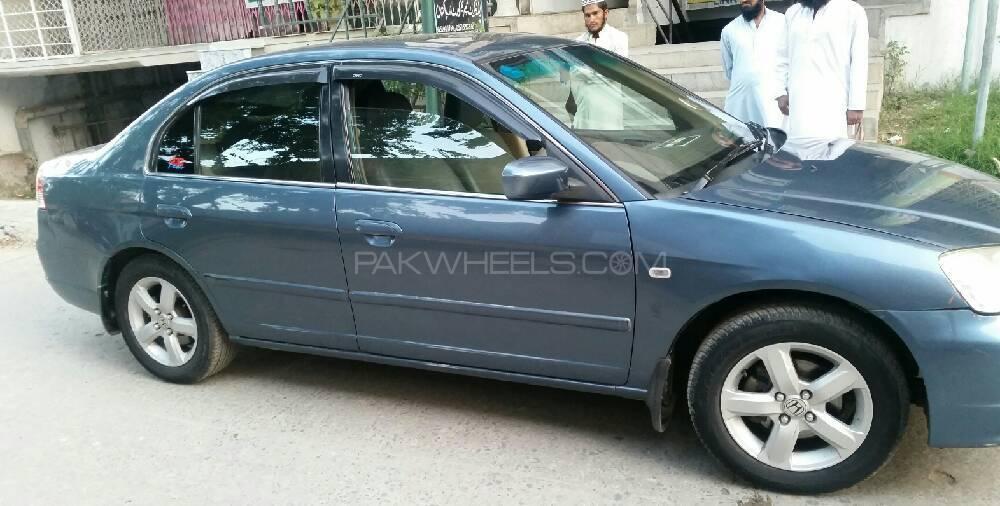 Honda Civic Hybrid - 2004 Honda civic, oriel prismatic UG 2004 model registration no isb, new tyres, Image-1