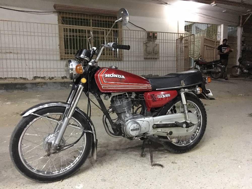 Honda CG 125 - 1985  Image-1