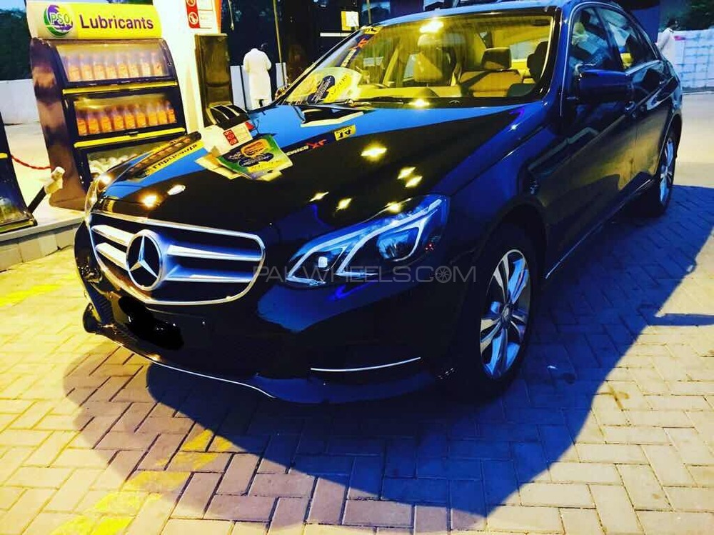 Mercedes Benz E Class - 2014  Image-1
