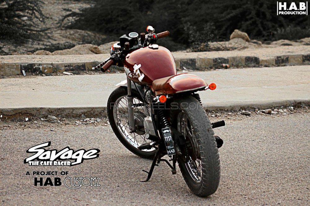Suzuki GS 150 - 2016 Savage The CAFE RACER Image-1