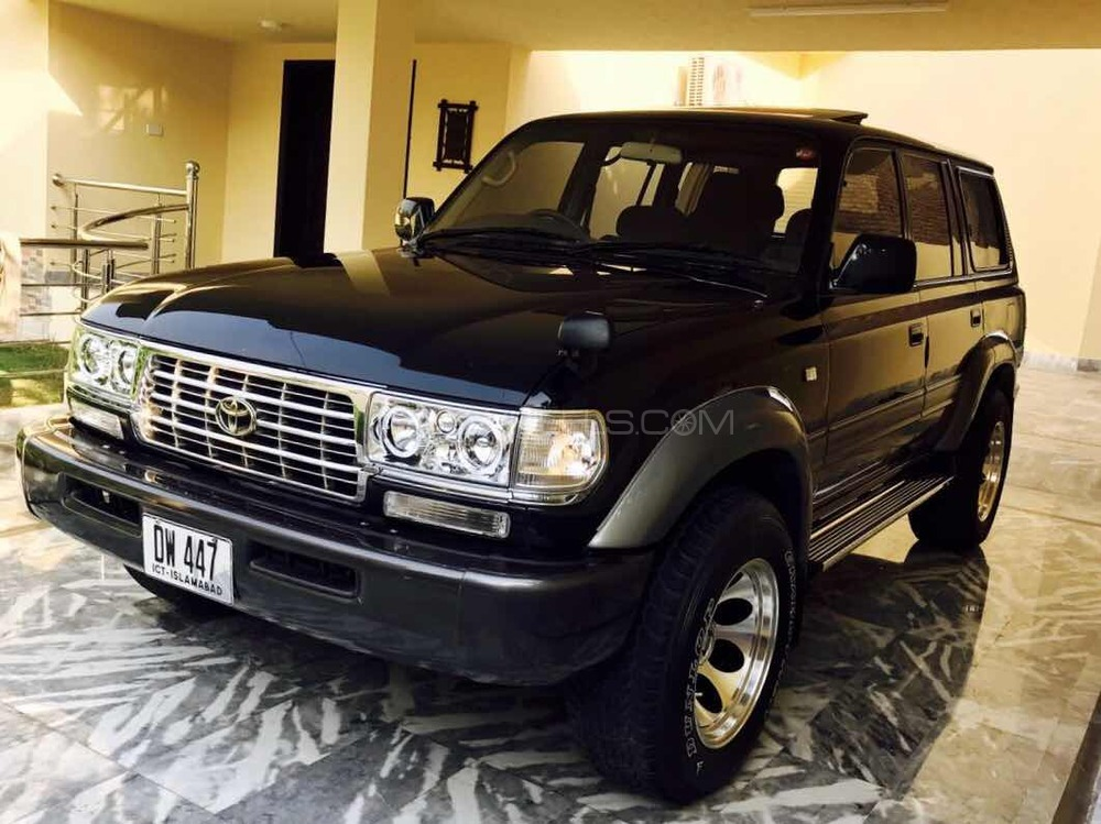 toyota land cruiser 1996 of mouzzankhan member ride. Black Bedroom Furniture Sets. Home Design Ideas