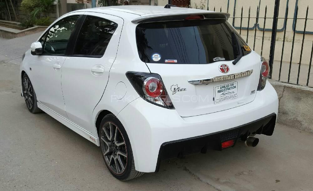 Toyota Vitz - 2013 G's for Gaziani ???? Image-1