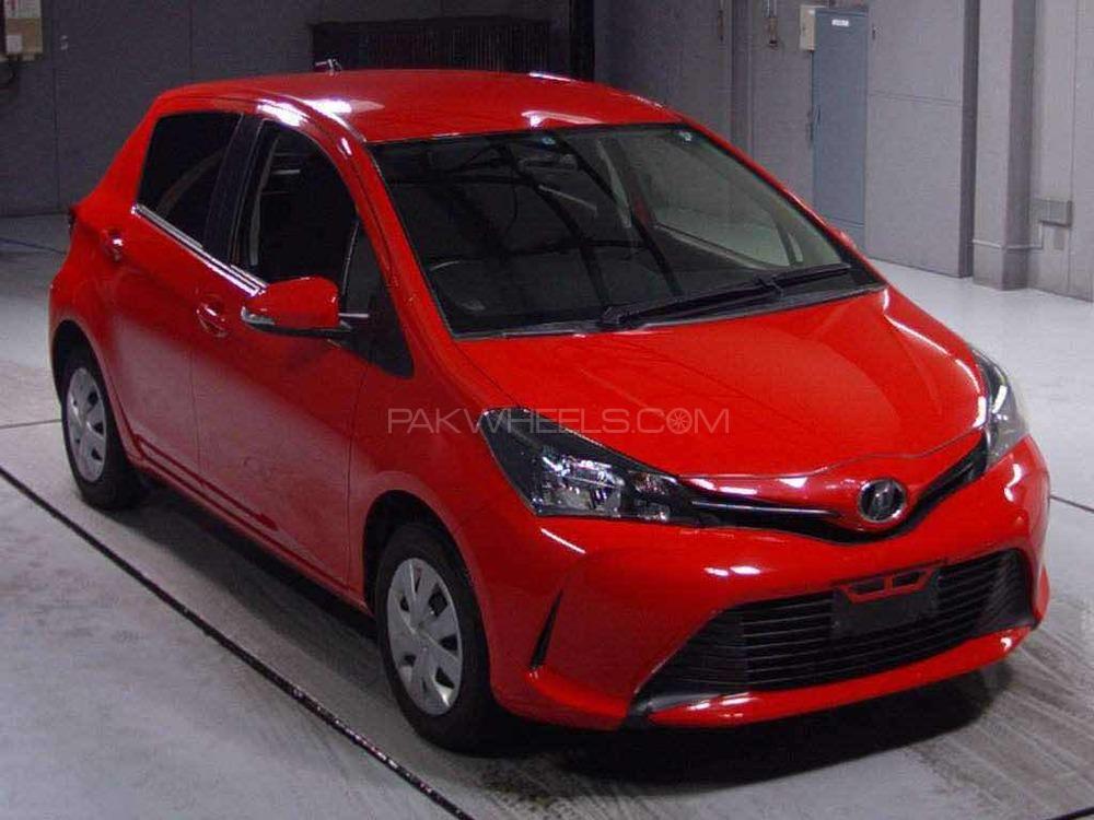 Toyota Vitz - 2014 B J BUTT Image-1