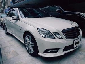 Mercedes Benz E Class - 2012