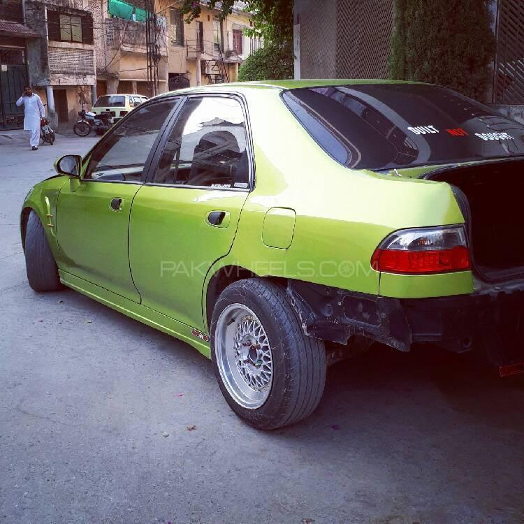 Honda Civic - 1995 Green machine Image-1