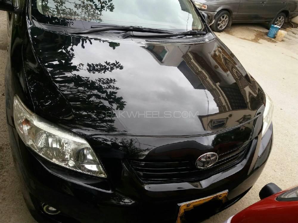 Toyota Corolla - 2009 Black Horse Image-1