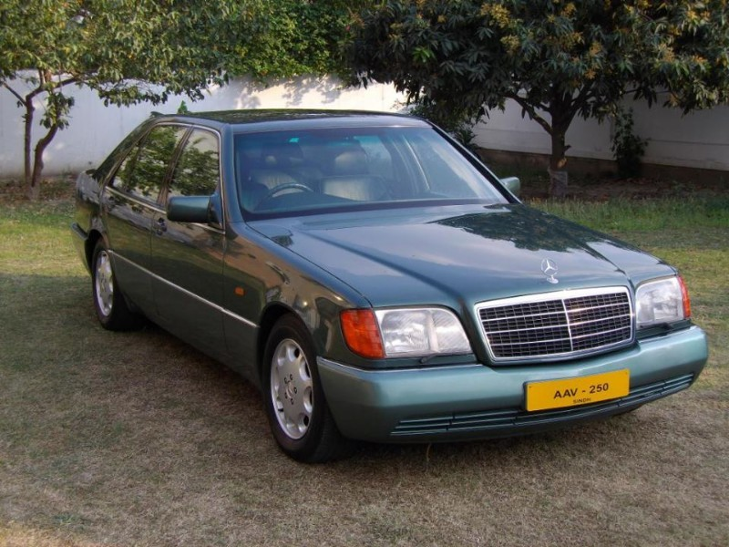 Mercedes benz s class 1994 of sarmadsaeed member ride for 1994 mercedes benz s500