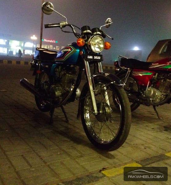 Honda CG 125 - 1984  Image-1