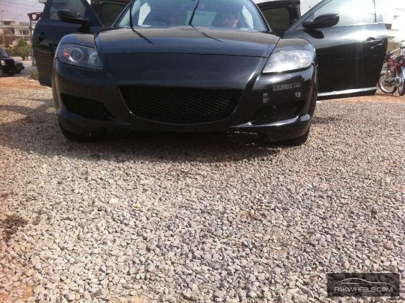 Mazda RX8 - 2004 black cat Image-1