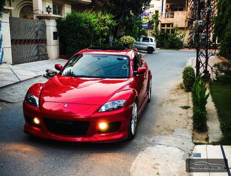 Mazda RX8 - 2005 Red Rexy Image-1