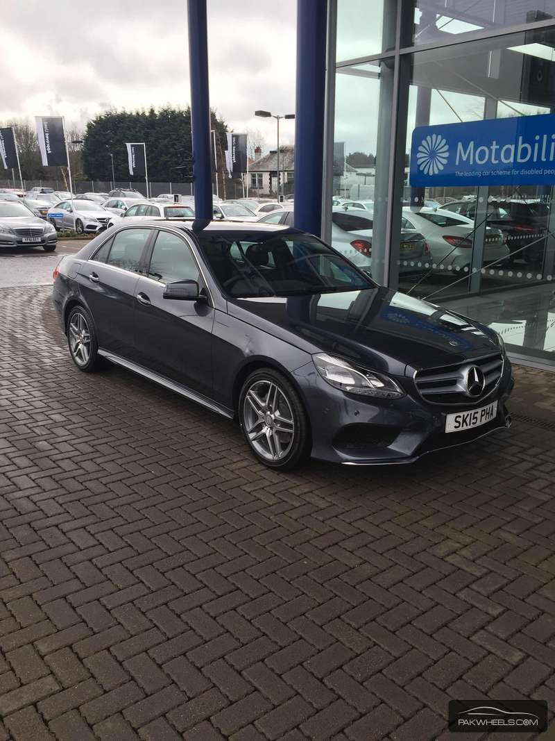 Mercedes Benz E Class - 2015 my new ride Image-1