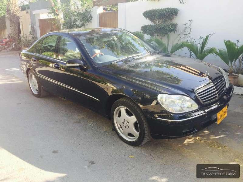 Mercedes Benz S Class - 2002  Image-1