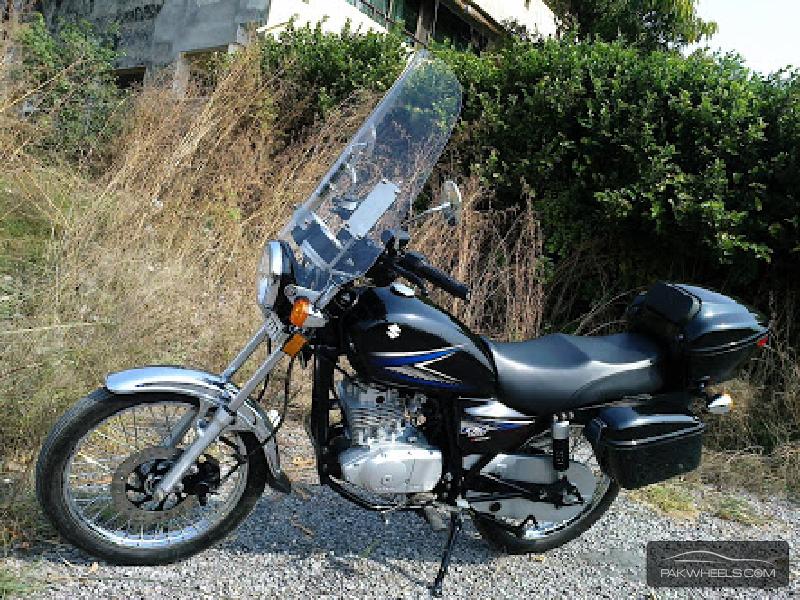 Suzuki GS 150 - 2015 GS-150 Thunder Image-1