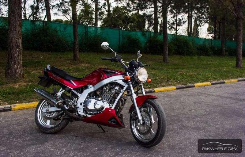 Suzuki GS500E - 1993 Red Image-1
