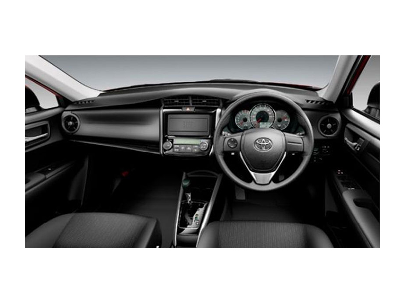Toyota Corolla Fielder  Interior Dashboard