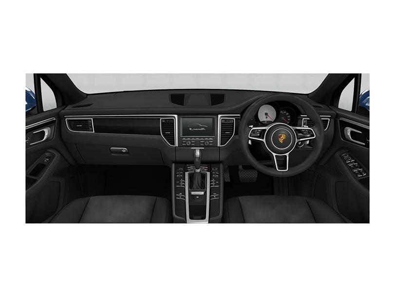 Porsche Macan 2018 Interior