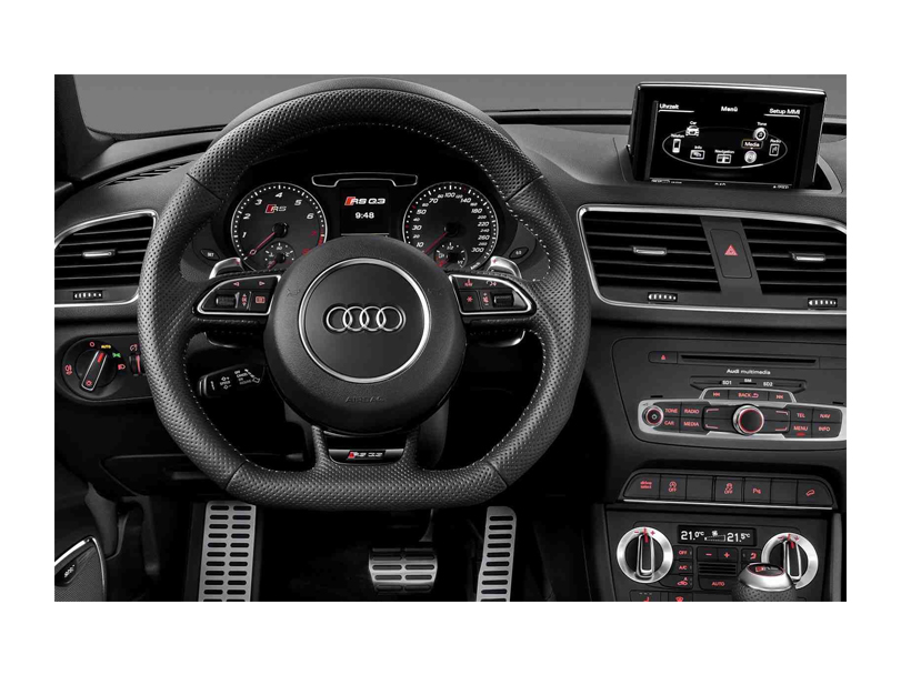 Audi Q3 2018 Interior Steering Wheel/Cluster
