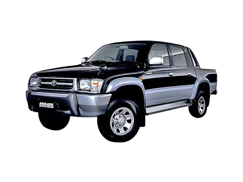 Toyota Hilux 2005 Interior