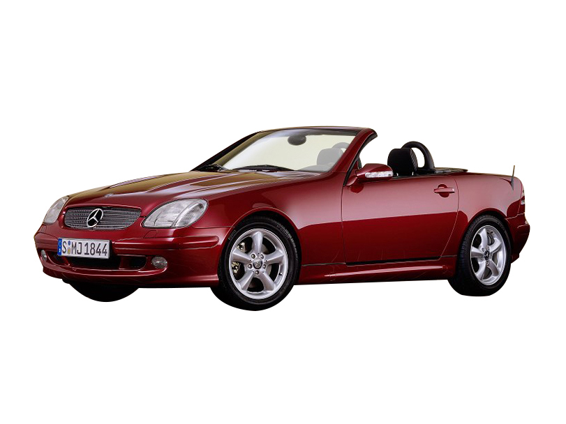 Mercedes Benz SLK Class 2004 Interior