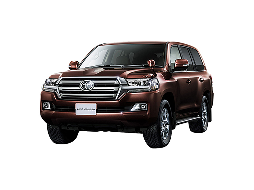 ٹویوٹا لینڈ کروزر 2018 Exterior Land Cruiser 200 Series Face-lift