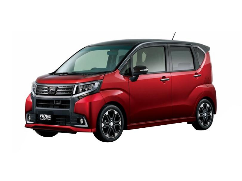 Daihatsu Move  Interior Daihatsu Move Custom