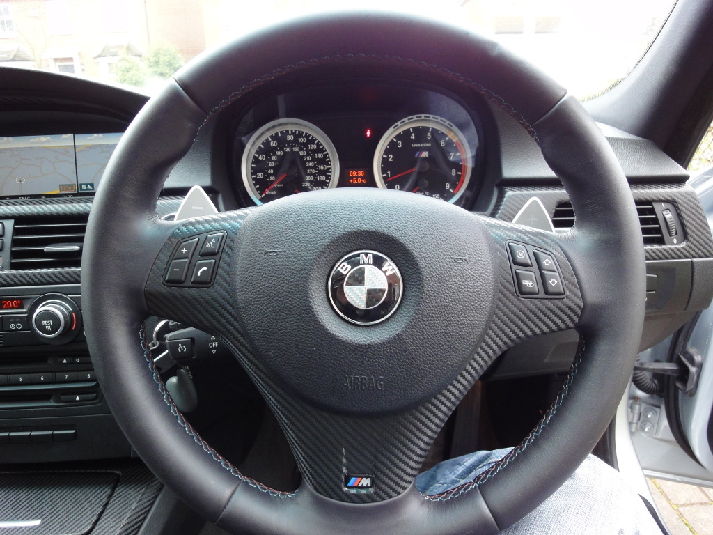 BMW 3 Series 2013 Interior Steering Wheel