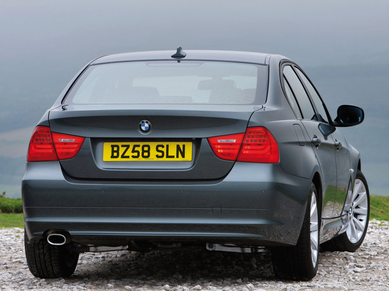 BMW 3 Series 2013 Exterior Rear End