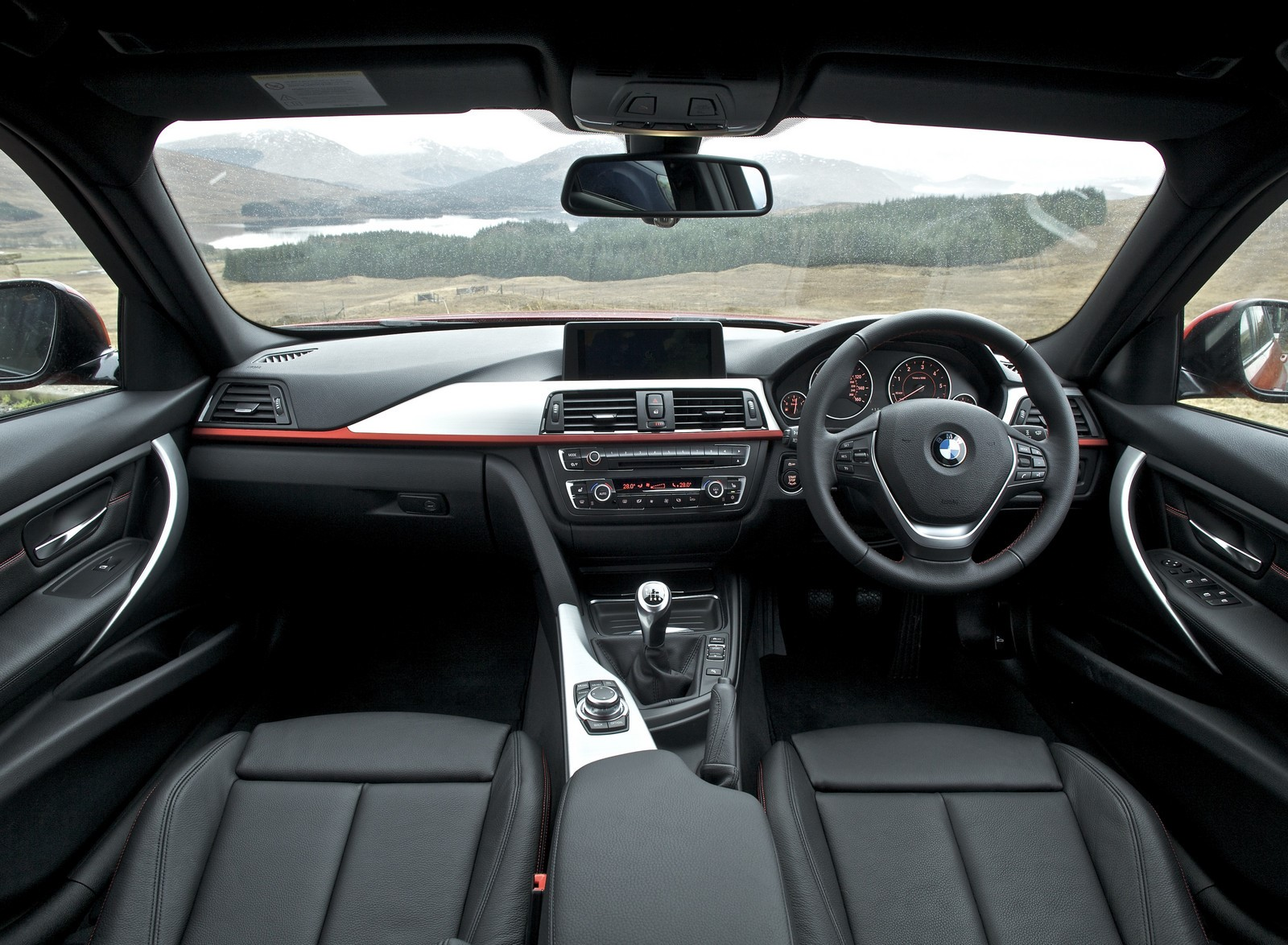 BMW 3 Series 2018 Interior Interior Cabin