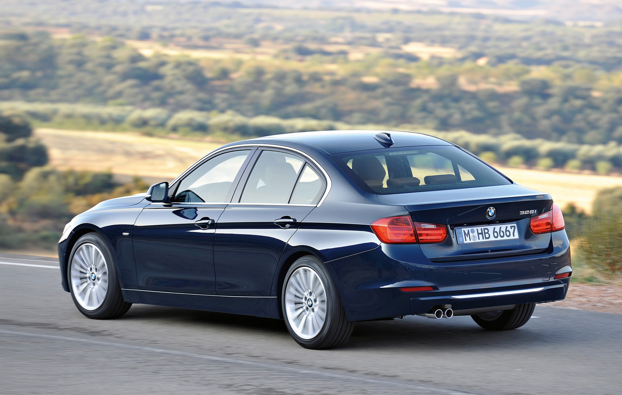 BMW 3 Series 2020 Exterior Rear Side View