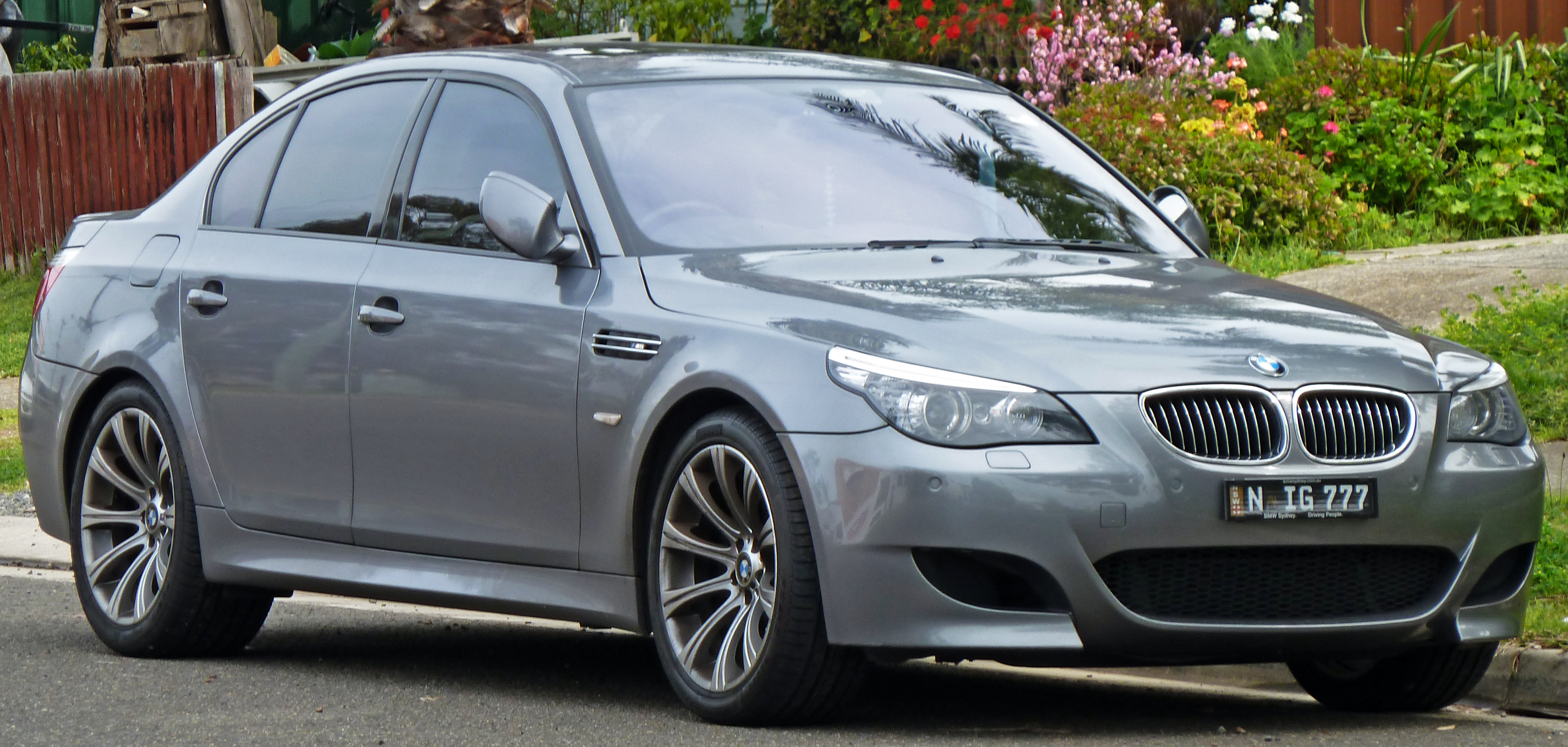 BMW 5 Series 2010 Exterior Side View