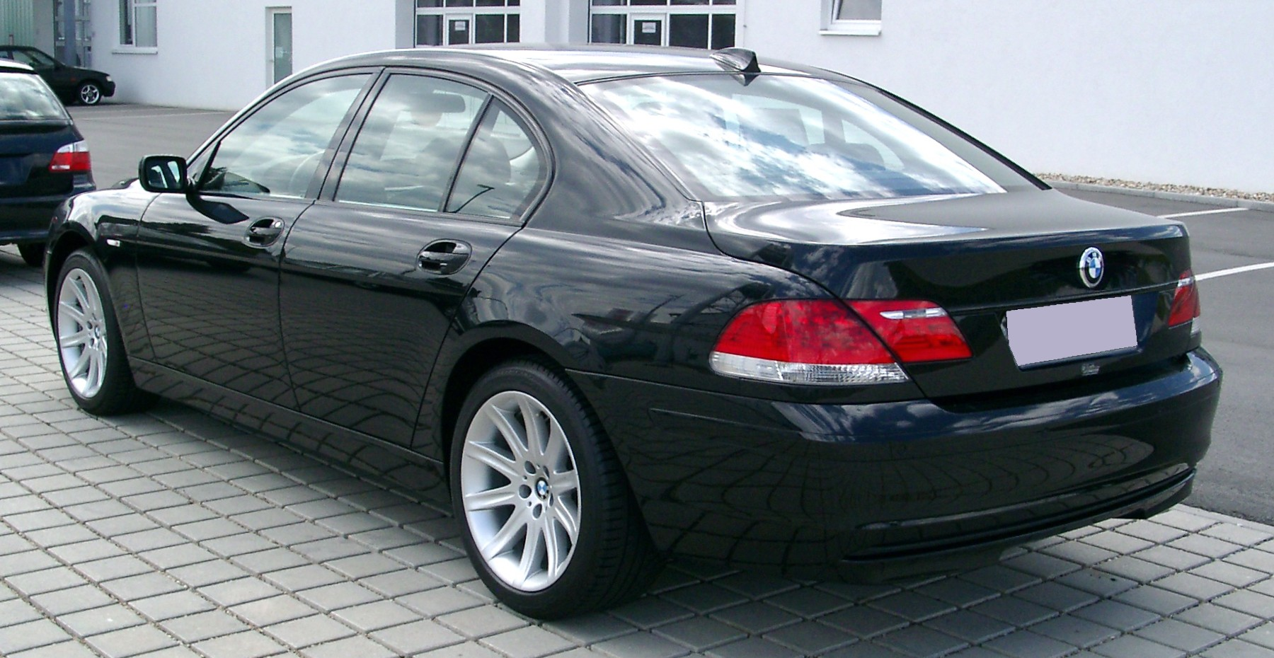 BMW 7 Series 2009 Exterior Rear Side View