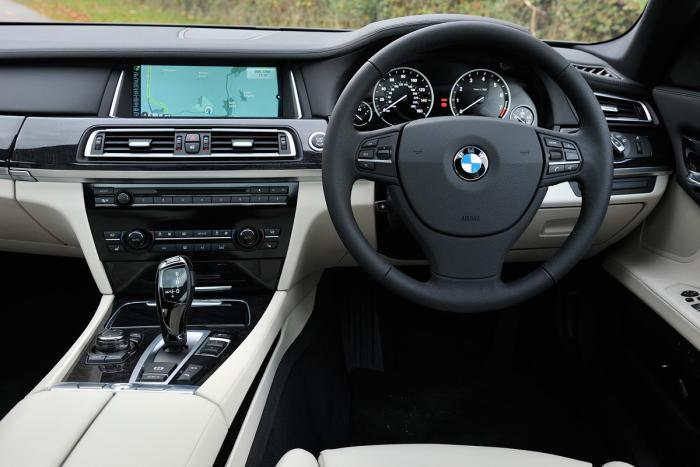 BMW 7 Series 2015 Interior Dashboard